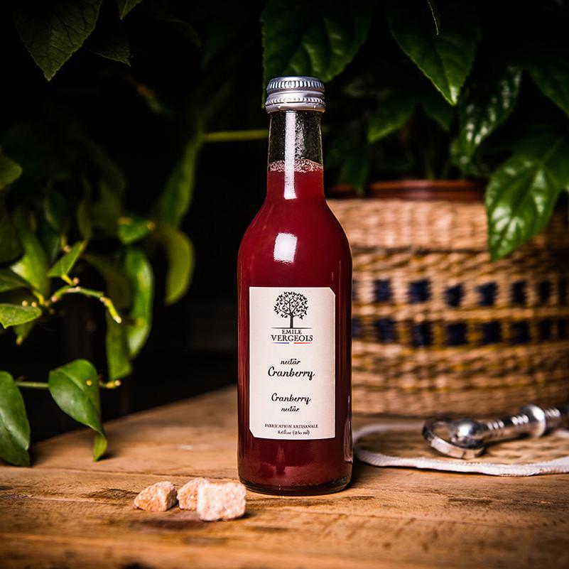 Nectar de cranberry par Emile Vergeois